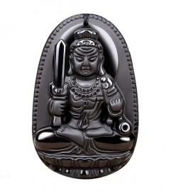 Mặt Phật Bản Mệnh Bất Động Minh Vương Cho Người Tuổi Dậu
